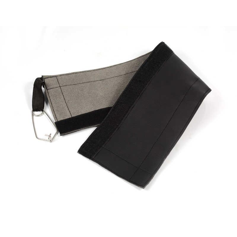 Housse de Protection en cuir Anti-Abrasion haute résistance avec bande magique pour l'escalade en plein air