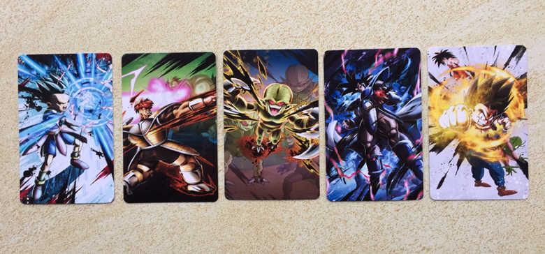 100pcs/set Super Dragon Ball Z Heroes Battle Card Ultra Instinct Goku Vegeta Game Collection Cards