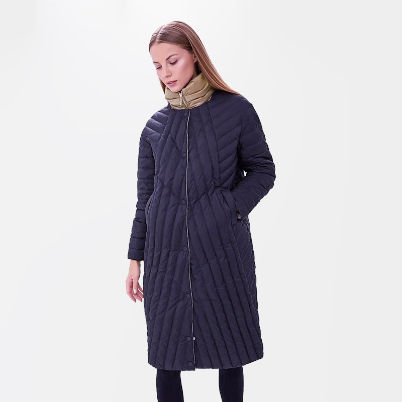 2019 New Quilted Spring Autum Women's   Parka   Windproof Thin Women Coat Long Plus Size High Quality Warm Cotton Jackets Brand
