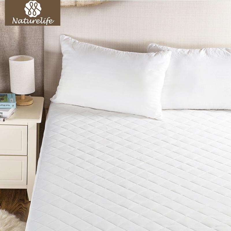 Naturelife colchón impermeable cubierta del protector del colchón para la cama mojando Ed bug cama transpirable Sábanas banda elástica