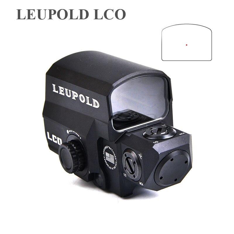 Leupold Lco Aktualisiert Rot Dot Sight Jagd Scopes Holografica Taktische Zielfernrohr Passt in Jede 20mm Schiene Montieren Airsoft Gun Umfang