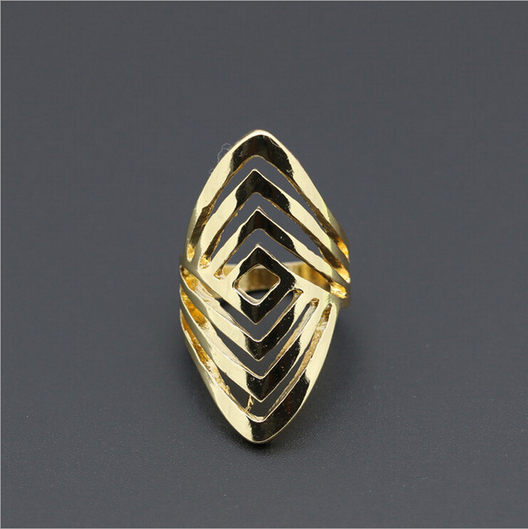 2017 cool hollow out simple new models Gold ring designs ...