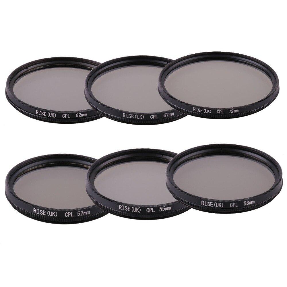 Gray Cokin 67CPL Circular Polarizer Filter