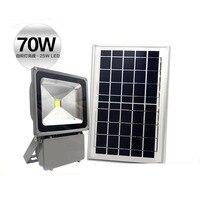 Solar cast light 70W lithium battery integrated light control stall portable lamp night lights smart