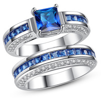 10 Sets Lot Mix Sizes Hot Lover S Ring Set Ring Fashion Zircon Ring Popular Couple