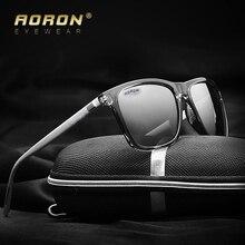 Men's Metal Polarized Sunglasses Unisex Retro Aluminum+TR90 Sunglasses Polarized Lens Vintage Eyewear Accessories Sun Glasses