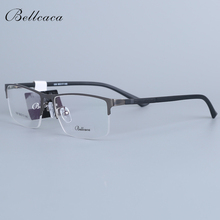 Bellcaca, оправа для очков, мужские очки, компьютерная близорукость, оптические очки по рецепту, прозрачные линзы, оправа для мужских очков, 030