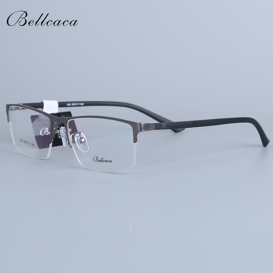 Bellcaca Spectacle Frame Men Eyeglasses Computer Myopia Optical Prescription Eye Clear Lens Glasses Frame For Male Eyewear 030