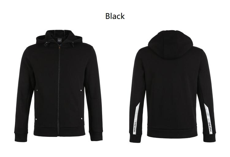 Men's Cardigan Fleeced Hooded Sweatshirt Jacket Men's Hoodies Brand New Fashion Menswear 28