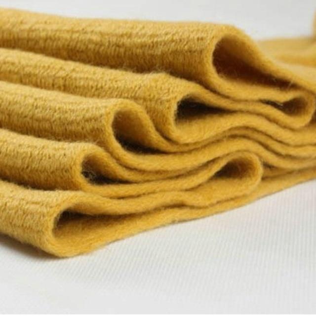 Korean Simple Solid Color Warm Winter #Scarf #Women Elastic Knitted Wool Ring Scarves #fashion #boygrl 5