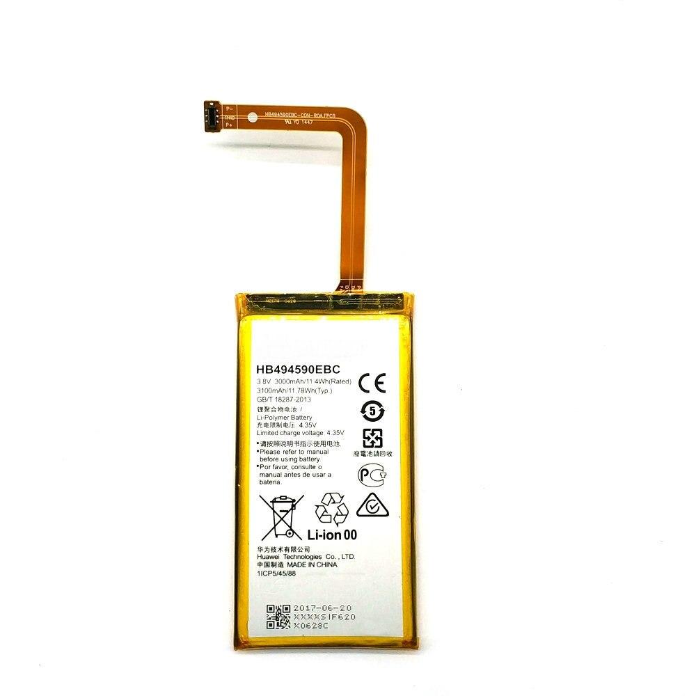 New HB494590EBC Rechargeable phone battery For Huawei Honor 7 Glory PLK-TL01H ATH-AL00 PLK-AL10 3000mAh