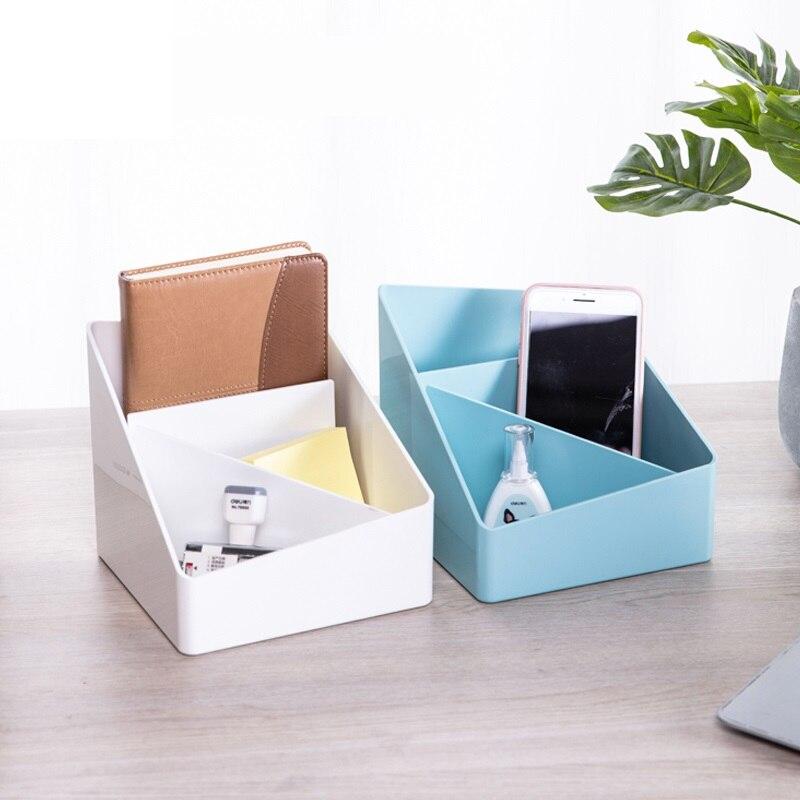 1 Pc Frische Farbe Stift Halter Lagerung Box Abs Kunststoff 3 Größen Blau Weiß Große Kapazität Schreibwaren Büro Schule Deli 8910