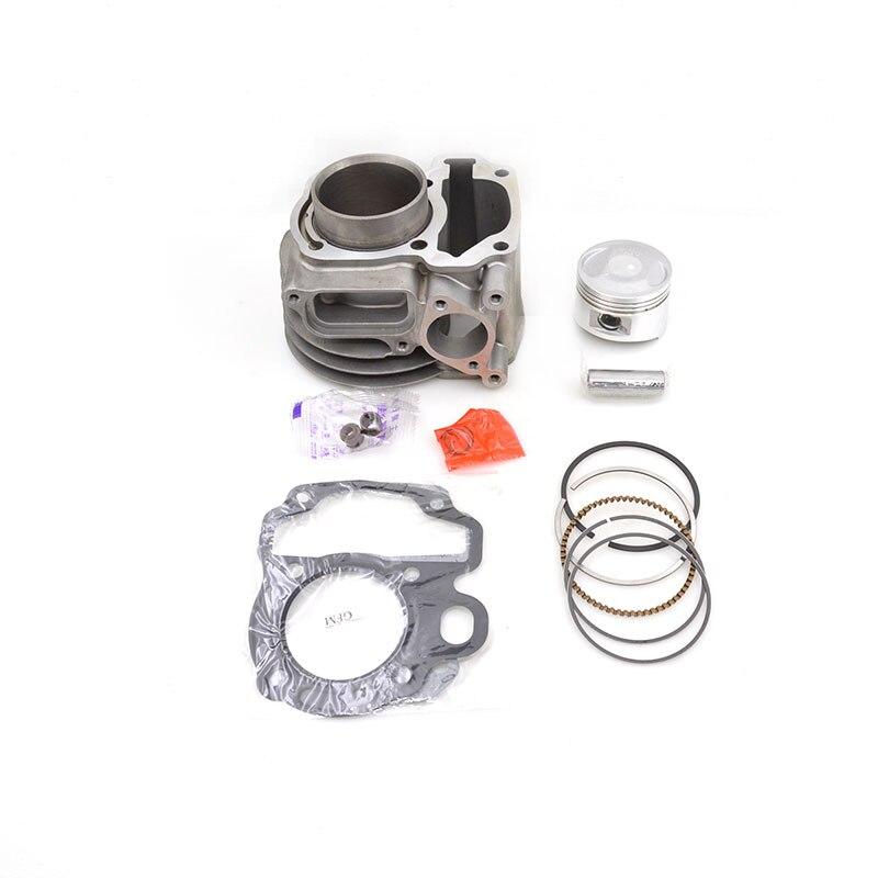 Высокое качество мотоцикл цилиндр комплект для Honda GFM110 привести 110 WH110T-5 SCR110T WH110T GFM WH SCR 110 с водяным охлаждением двигателя