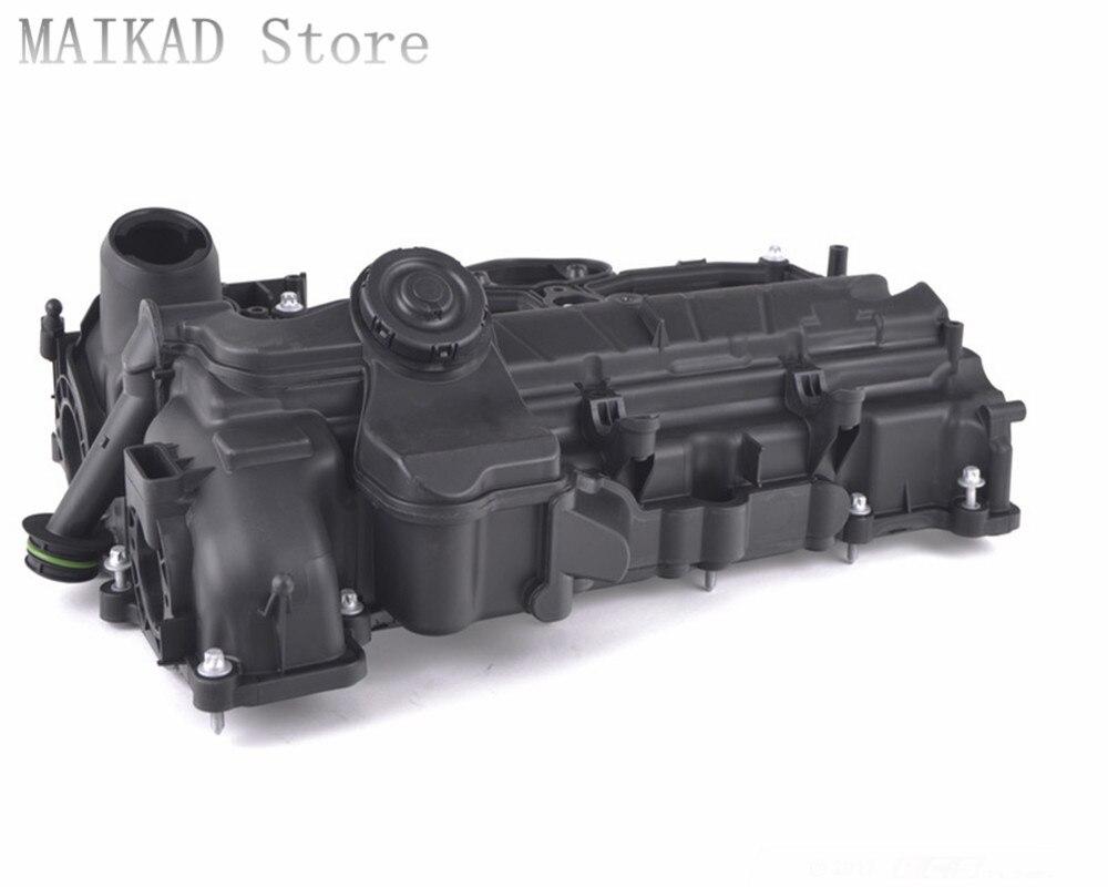 Valve Cover - With PCV Valve for BMW F10 F11 F18 520i 523i 528i 530i 535i 550i 520Li 523 ...