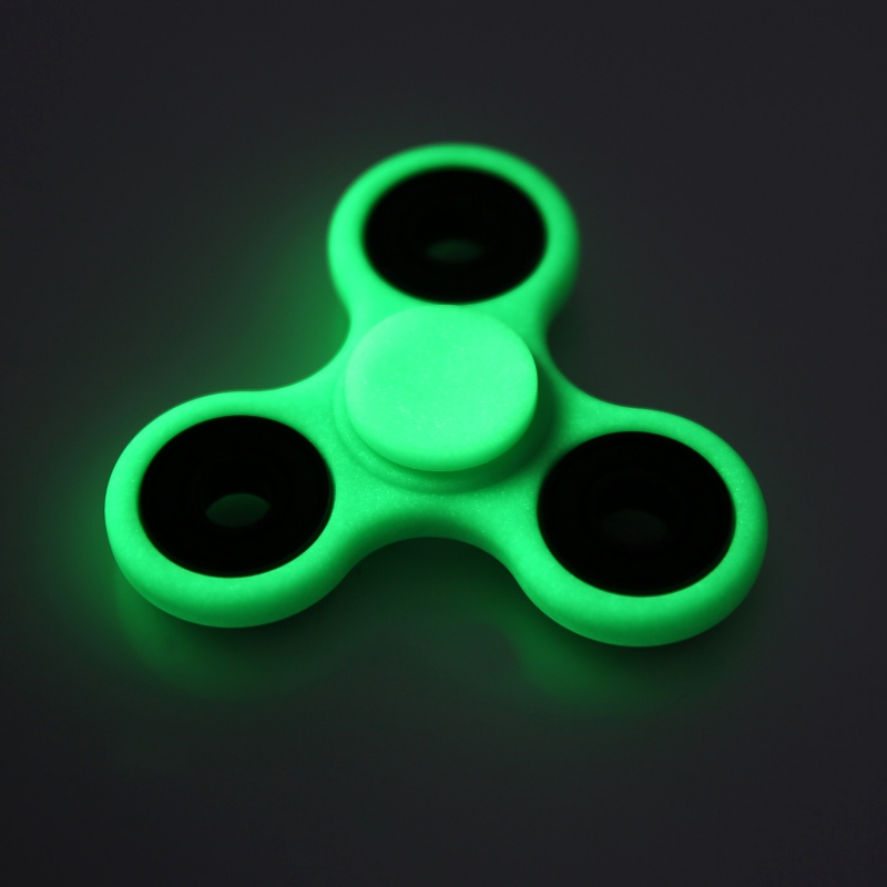 Finger Spinner Glow In The Dark Toy Made Focus Colorful Handspinner Stress Fidget Pochette Hand From Toys