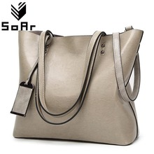 European And American Style Top-Handle Bags Retro Leather Large Capacity Shoulder Bag Designer Handbags High Quality Totes