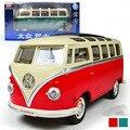 Бесплатная доставка Volkswagen VW Автобус 1:24 Сплава Литья Под Давлением Модели Автомобиля Игрушки Коллекция Для Мальчика Детей Как Подарок Игрушки Новый