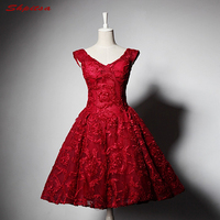 Red Short Homecoming Dresses Cocktail 8th Grade Prom Dresses Semi Formal Dress vestidos curto para formatura