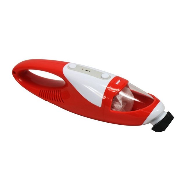 EVERTOP USB Mini Handheld Cordless Vacuum Cleaner 1400 Pa Battery Operated Power Suction Duster