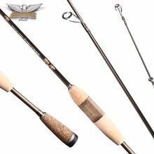 100% Original Fenwick Elite ES652ML 1.96 m Señuelo Varilla 2 Secciones Caña de Spinning Carbon Bass Spinning Cañas de Pescar de Acción Regular varillas