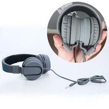 Проводные наушники портативные 35 мм гарнитура геймер с микрофоном
