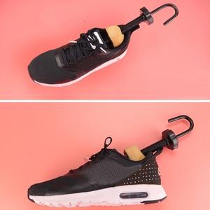 Image 5 - Unisex Cedar Wooden Boots Shoe Tree Women Mens Shoes Stretcher Expander Shaper Keeper Adjustable 2 Ways EU 35 46
