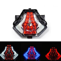 Moto parts motorbike rear blinker motorcycle brake light for YAMAHA R25 R3 MT07/03 LED moto tail light Red Blue White Color Lamp