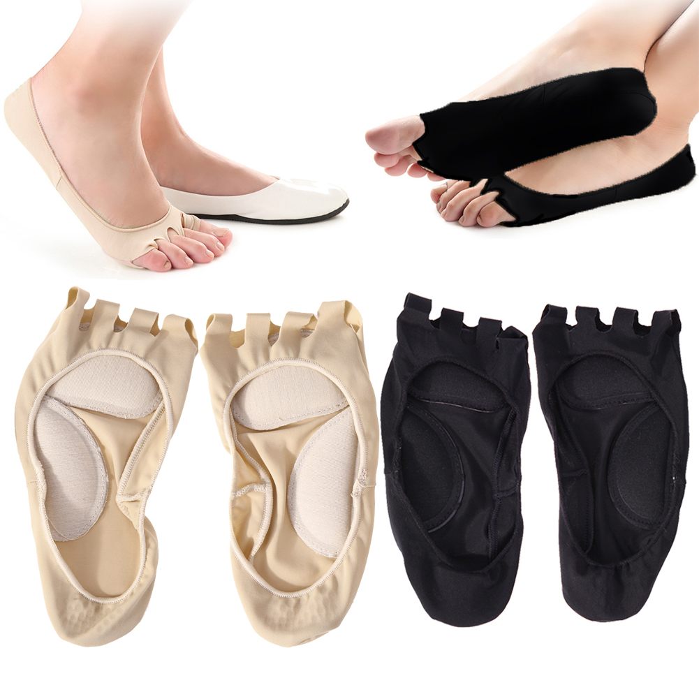 hot new products superior quality buy US $2.8 20% OFF|1Pair Five Holes Open Toe Socks X/O Type Leg Corrector Arch  Cushion Toes Separate Sock Anti Slip Feet Massage Orthotic Socks-in Foot ...