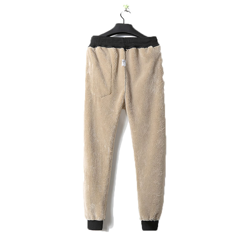 Men Pants Casual Elastic Sweatpants male Joggers Trousers men Heavyweight pantalon hombre Harem Pants winter warm Plush pants