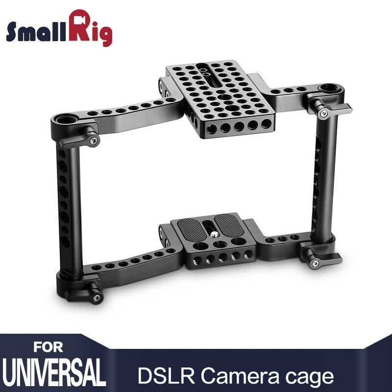 SmallRig Cage Fotocamera DSLR per Canon 650D 600D 550D Per Sony a7 a7II Per Panasonic GH5 GH4 GH3 GH2 Gabbia rig-1630