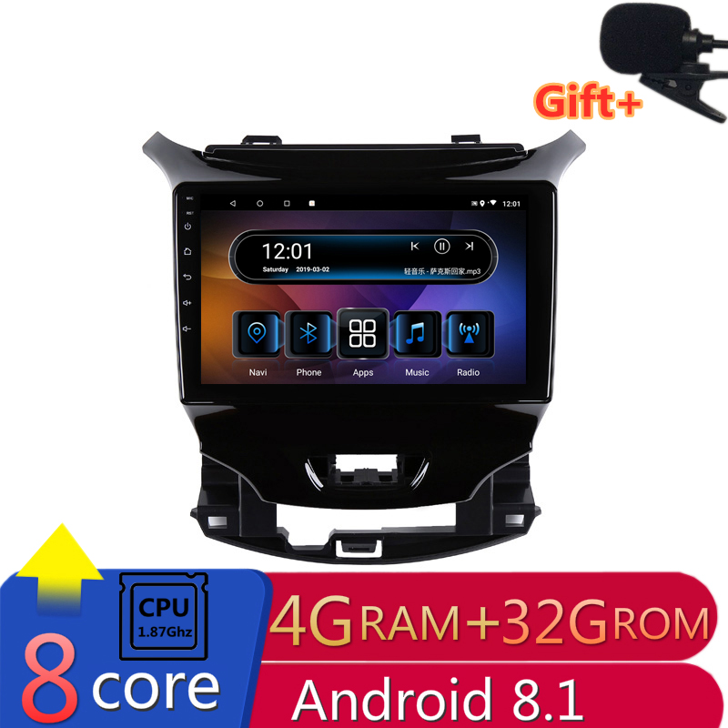 "9"" 4G RAM 8 cores Android Car DVD GPS Navigation for Chevrolet Cruze 2015 2016 2017 2018 audio stereo car radio headunit wifi"