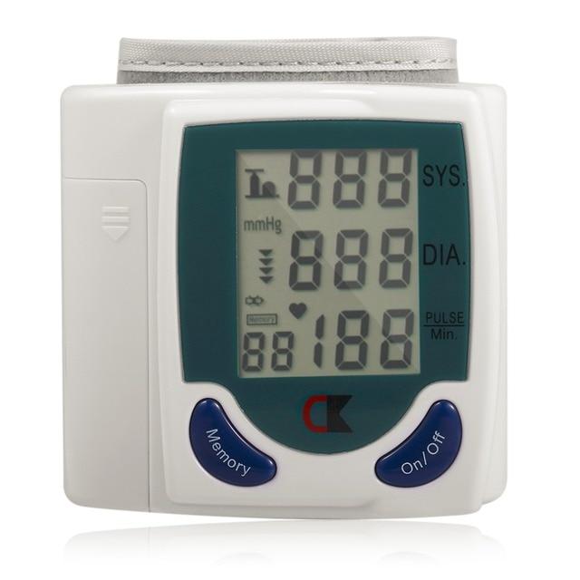 Home Automatic Wrist Digital Lcd Blood Pressure Monitor Portable Tonometer Meter For Blood Pressure Meter Oximetro De Dedo 5