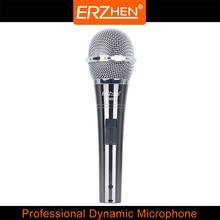 Microfone profissional dinâmico R-M232 alta qualidade dinâmico microfone de gravação do microfone