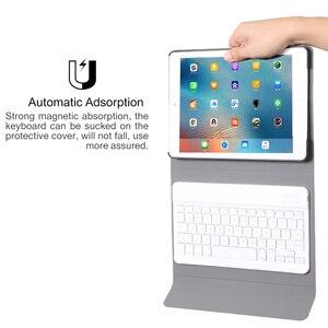 Image 3 - Pokrowiec biznesowy dla IPad Mini 1 2 3 4 5 2019 bezprzewodowa klawiatura Bluetooth pełna ochrona przenośna klawiatura przypadku smart cover