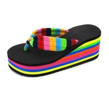 2017 New Arrival Newest Luxury woman slippers women chain slipper shoes Flip Flops Sandals Platform Jan7