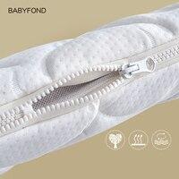 Babyfond newborn crib mattress baby green mattress four seasons baby sleeping pad newborn latex coco upgrade mode