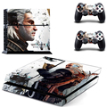 The Witcher Wild Hunt Decal Vinyl Skin Sticker PS4 Decal for Sony PlayStation 4 Console+2 Pcs Cover Skin of Controllers