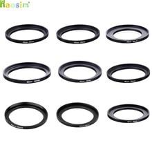 43-52  43-55  43-58  46-52  46-55  46-58  49-55  49-58  49-62mm Metal Step Up Rings Lens Adapter Filter Set