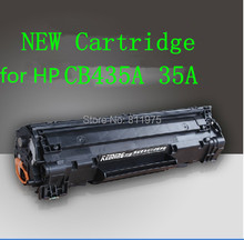 Free Shipping CB435A 35A Compatible Toner Cartridge For HP LaserJet P1005 P1006 Black  (2000 Pages)