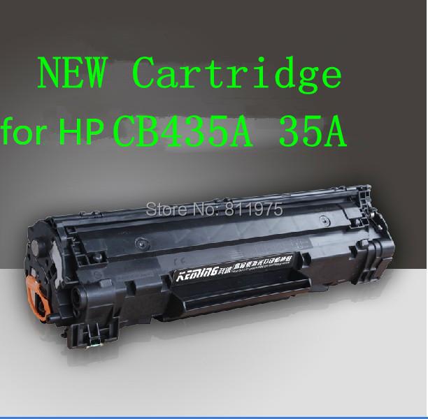 Frete grátis cartucho de toner compatível para hp laserjet p1005 p1006 cb435a 35a preto (2000 páginas)
