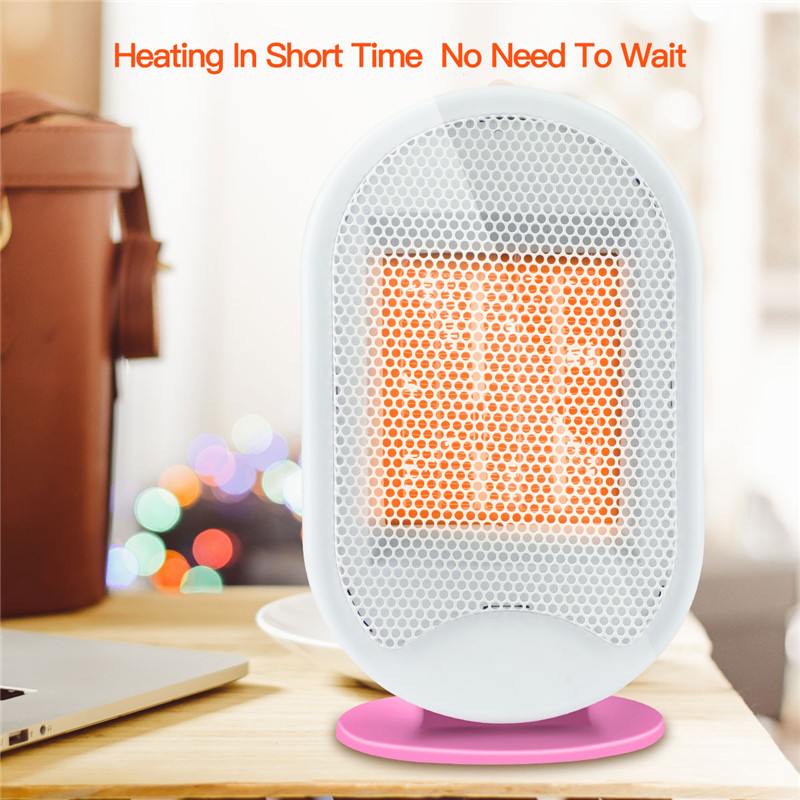 Portable Electric Heater Mini Fan Heater Warm Air Blower Desktop Household Handy Heater Stove Radiator Warmer Machine For Winter cute mini fan heater desktop household electric heater fast handy heater warm machine for winter small desktop heater