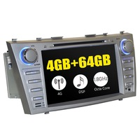 8Double 2Din Android Car Radio Stereo GPS Navigation For Toyota Camry 2007 2011 Head Unit Built in 4G Modem Multimedia Player