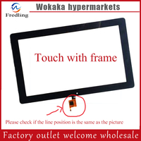 New 10.6 inch Touch Screen For Teclast Tbook11 Tablet Dual OS Windows10 & Android 5.1 Intel Tablet PC Glass Screen