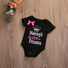 Twin Baby Girl Little Princess Romper