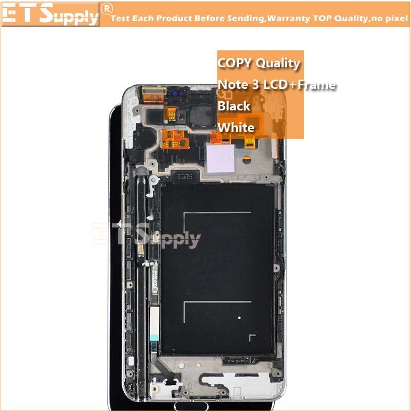 Work ok Copy Quality LCD Display With Frame Replacement For Samsung Galaxy Note 3 N9005 n900