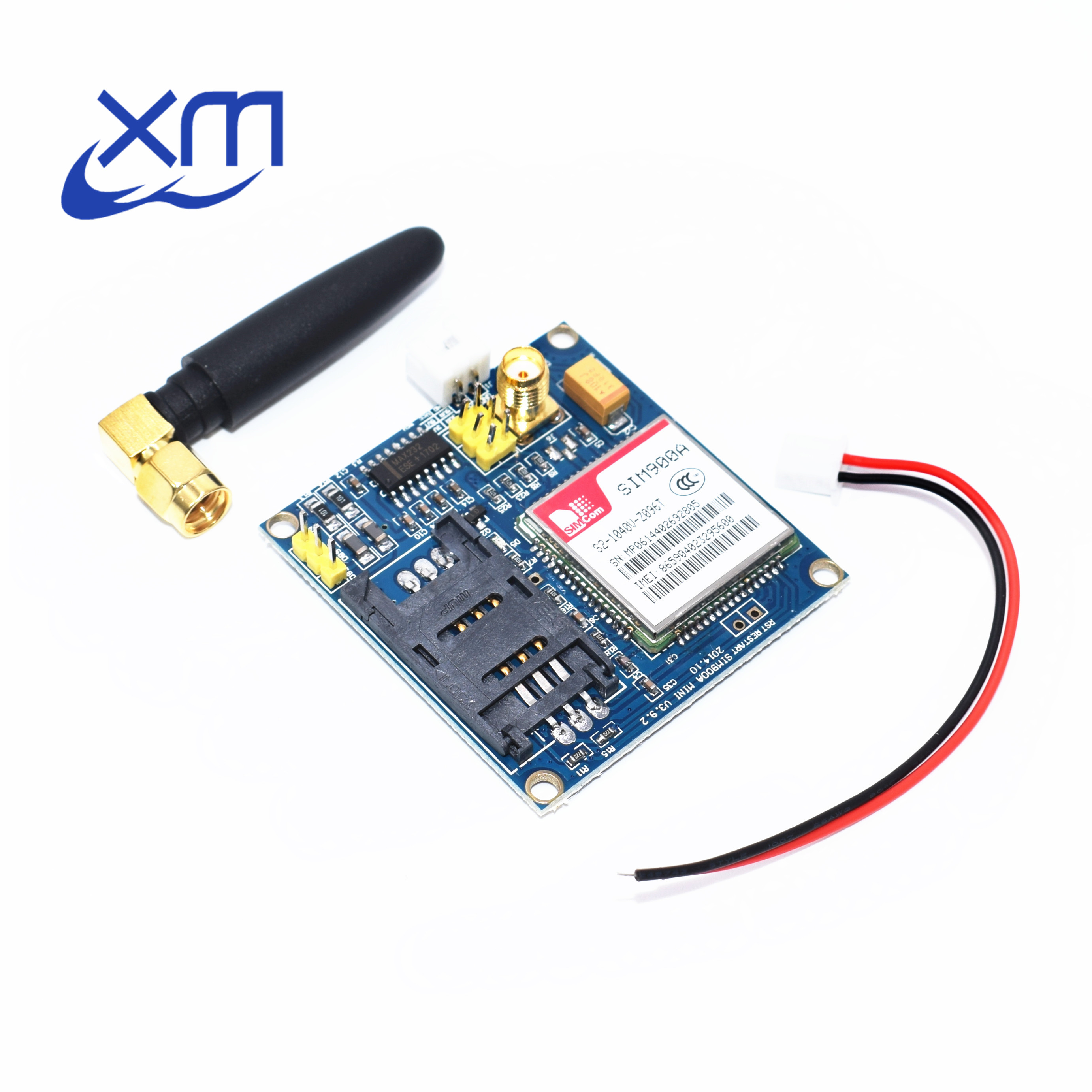 Free shipping 1PCS/LOT New SIM900A SIM900 MINI V4.0 Wireless Data Transmission Module GSM GPRS Board Kit w/Antenna C83