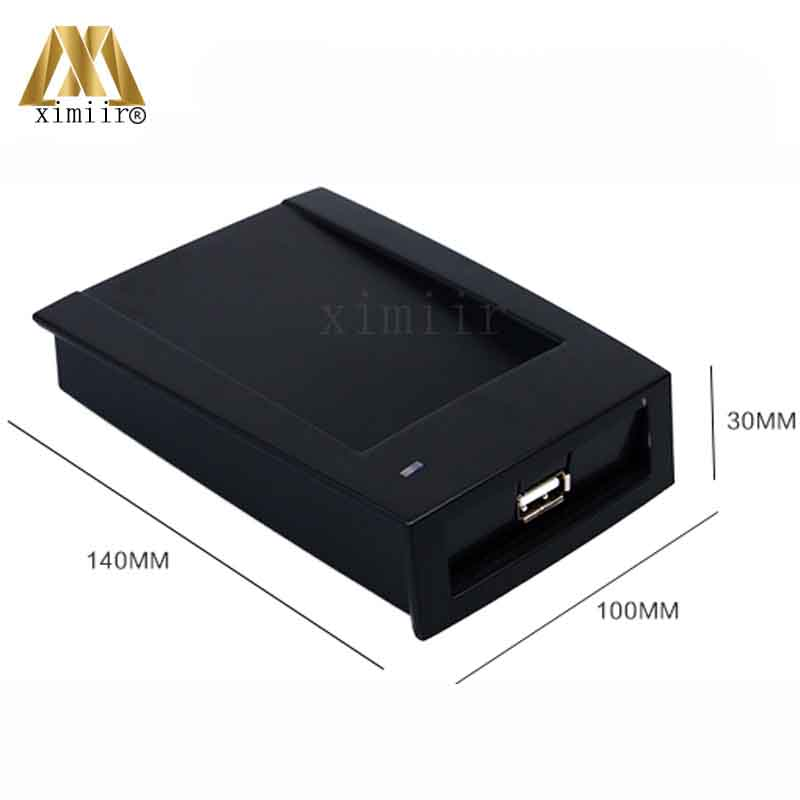 Good Quality USB 125KHZ RFID EM Card Reader Smart Proximity ID Card Reader For Access Control And Time Attendance R02E original access control card reader without keypad smart card reader 125khz rfid card reader door access reader manufacture