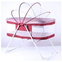 Портативный висит детские кроватки сетки для новорожденных раскладная кровать люльки Кабриолет Детские кроватки, постельные наборы детск
