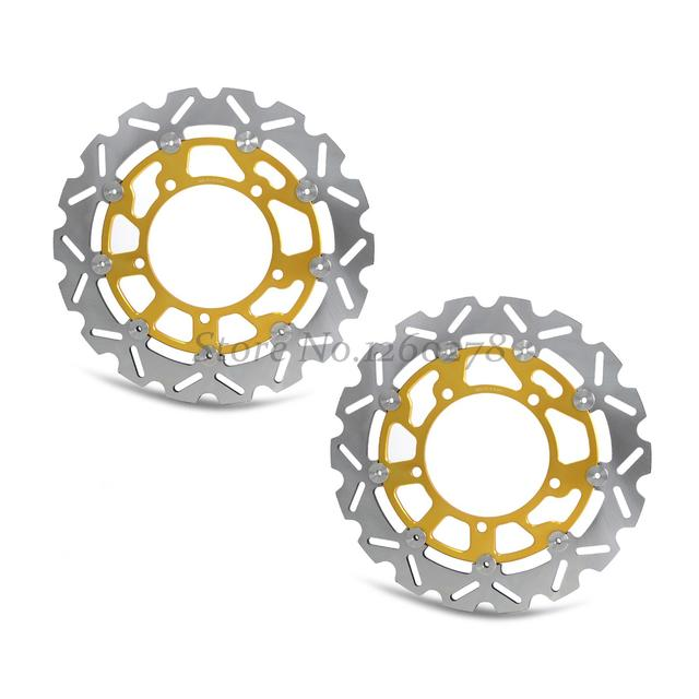 1 pair Front Brake Rotor Disc  For Suzuki GSX 1300 RK8/RK9/RL0/RL1/RL2/RL3
