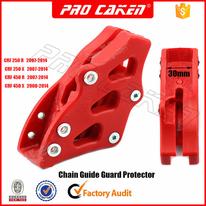 Cursore di protezione per guida posteriore catena moto per CRF250R CRF250X CRF450R CRF450X